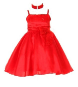Red Christmas Dress Baby and Toddler