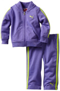 Puma - Kids Baby-girls Infant Tricot Track Jacket And Pant Set