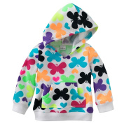 Jumping Beans Butterfly Hoodie - Baby Girls