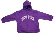 New York City Infant Baby Zippered Hoodie Sweatshirt Purple