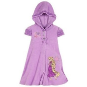 Disney Store Rapunzel Hooded Swimsuit Cover Up Swimwear Size XS 4