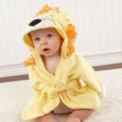Big Top Bath Time Lion Hooded Spa Robe