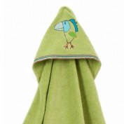 Breganwood Organics Rainforest Collection - Funny Bird Hooded Towel