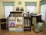 Best Seller My First Barn Animals 4pc Crib Bedding Set