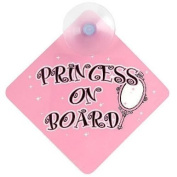 . Princess On Board Sign