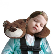 Jeep Travel Buddy Neck Support Pillow -Bear