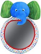 Eric Carle Back Seat Baby View Mirror - Elephant