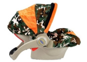 Baby Car Seat Infant Cover - Military