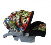 Baby Car Seat Infant Cover - Family Monsters