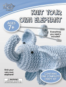 Craft for Kids - Knit Your Own Elephant