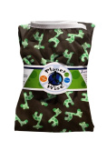 Planet Wise Reusable Nappy Pail Liner, Green Giraffe