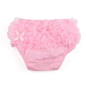 Pink Baby Girl Ruffle Panties Bloomers Nappy Cover S