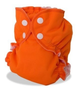Apple Cheeks Envelope Cloth Nappy Cover, Orange You Glad