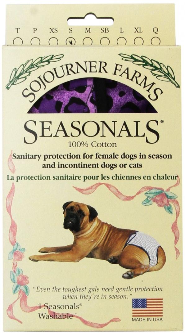 Seasonals Washable Dog Nappy