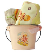 Vintage-style Kids Cooking Lap T & Nappy Cover Gift Set