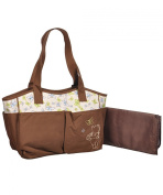 "Winnie the Pooh ""Follow the Butterflies"" Nappy Tote"