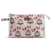 Apple & Bee Baby Baby Cosmetic Bag, Finch