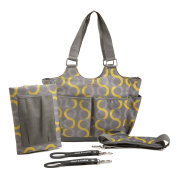 timi & leslie Sami Tag-a-long Tote Diaper Bag with Changing Pad