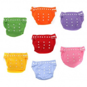 One piece Reusable Baby Soft Cloth Nappy Nappy One Size Fit Most Toddler Dry Tender Care 9 Colours