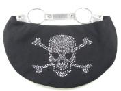 Studded Rhinestone Skull Handbag or Nappy Bag