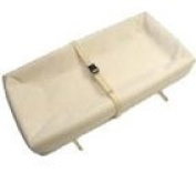 Naturepedic Organic Cotton 4-Sided Contoured Changing Pad PLUS Ad-On Washable Organic Cover