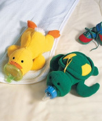 Baby Bottle Huggers - Duck & Turtle Set of 2