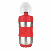 The Safe Sporter Water Bottle, Red, 12 Ounce