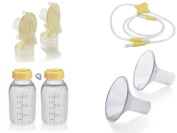 Medela Freestyle Breast Pump Replacement Parts Kit with Medium 24 mm Breast Shield