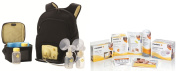Medela Pump in Style Advanced Backpack Double Electric Breast Pump Solution Set with Bonus Kit and Accessories with Bonus Breast Care Kit from Mom and Baby Shop