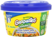 Baby / Child Gerber Graduates Lil' Meals Microwavable Containers (12) - White Turkey Stew W/ Rice & Vegetables Infant