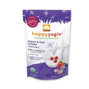 Happy Baby happyyogis Organic Superfoods Yoghurt and Fruit Snacks, Mixed Berry - 30ml - Case of 8