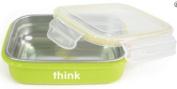 Thinkbaby Stainless Steel Bento Box - Green