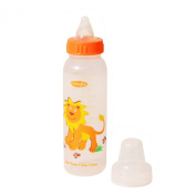 Evenflo Zoo Friends Bottle Pegable with Anatomic Nipple