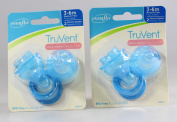 Evenflo 2 Pack TruVent Nipple and Ring