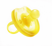 Natural Rubber Pacifier Rounded 1-pack
