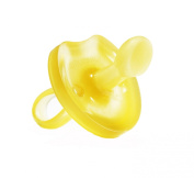 Natursutten BPA Free Natural Rubber Pacifier, Butterfly Orthodontic,12 Months and Above