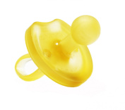 Natursutten BPA Free Natural Rubber Pacifier, Butterfly Rounded, 12 Months and Above