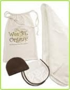 Babe Ease WeeBe Organic Burper and Cap Gift Set