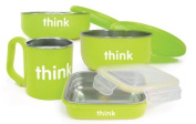 Thinkbaby Stainless Steel BPA Free Feeding Set