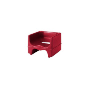 Cambro Dual Seat Booster Seat w/o Strap, Hot Red