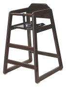 LA Baby Commercial/Restaurant Wooden High Chair