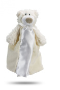 Friendly Pacifier Satin Blanket with Detachable Pacifier