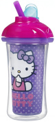 Munchkin Hello Kitty Click Lock Insulated Straw Cup, 270ml