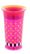Sassy 270ml No-Spill Grow Up Cup- 12+ M-Orange/Yellow