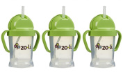 Zoli Baby BOT Straw Sippy Cup 180ml, 3 Pack