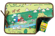 AM PM Kids! Reversible Placemat/Chalkboard