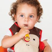 Skip Hop Zoo-tensils Childrens Fork & Spoon Set Monkey