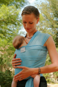 Beachfront Baby Water Wrap Carrier for Summer, Pool, Beach or Shower ~ Choose Colour