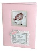 Stephan Baby Little Princess Keepsake Mini Photo Album Brag Book, Pink