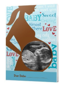 Baby Words Sonogram Magnet for Mommy to Be Large 15cm x 10cm Acrylic Photo Frame Favour Picture Gift